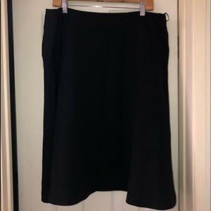 Elegant Black a line skirt